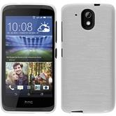 Silicone Case for HTC Desire 526G+ brushed white