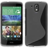 Silicone Case for HTC Desire 526G+ S-Style transparent