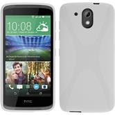 Silicone Case for HTC Desire 526G+ X-Style white