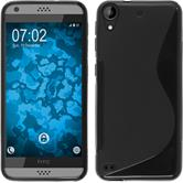 Silicone Case for HTC Desire 530 S-Style black