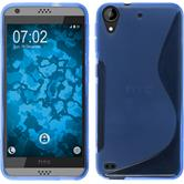 Silicone Case for HTC Desire 530 S-Style blue