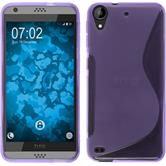 Silicone Case for HTC Desire 530 S-Style purple