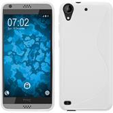 Silicone Case for HTC Desire 530 S-Style white