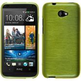 Silicone Case for HTC Desire 601 brushed pastel green