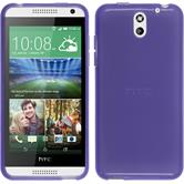 Silicone Case for HTC Desire 610 transparent purple