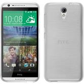 Silicone Case for HTC Desire 620 brushed white