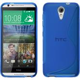 Silicone Case for HTC Desire 620 S-Style blue