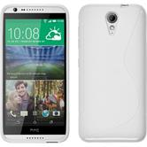 Silicone Case for HTC Desire 620 S-Style white