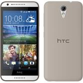 Silicone Case for HTC Desire 620 Slimcase gray