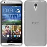 Silicone Case for HTC Desire 620 transparent white