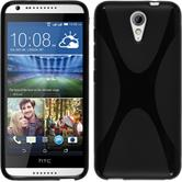 Silicone Case for HTC Desire 620 X-Style black