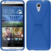Silicone Case for HTC Desire 620 X-Style blue