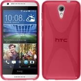 Silicone Case for HTC Desire 620 X-Style hot pink