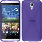 Silicone Case for HTC Desire 620 X-Style purple