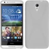Silicone Case for HTC Desire 620 X-Style white