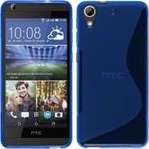 Silicone Case for HTC Desire 626 S-Style blue