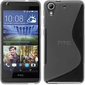 Silicone Case for HTC Desire 626 S-Style transparent