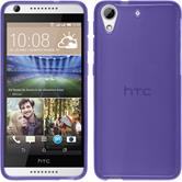 Silicone Case for HTC Desire 626 transparent purple