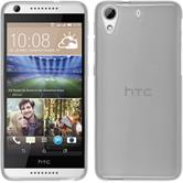 Silicone Case for HTC Desire 626 transparent white