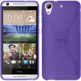 Silicone Case for HTC Desire 626 X-Style purple