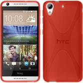 Silicone Case for HTC Desire 626 X-Style red