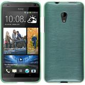 Silicone Case for HTC Desire 700 brushed green