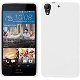 Silicone Case for HTC Desire 728 S-Style white
