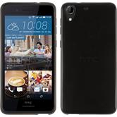 Silicone Case for HTC Desire 728 transparent black
