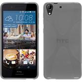 Silicone Case for HTC Desire 728 X-Style gray