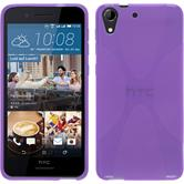 Silicone Case for HTC Desire 728 X-Style purple