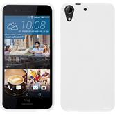 Silicone Case for HTC Desire 728 X-Style white