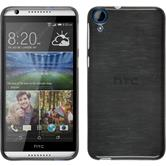 Silicone Case for HTC Desire 820 brushed silver