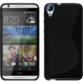 Silicone Case for HTC Desire 820 S-Style black