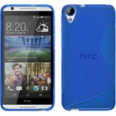 Silicone Case for HTC Desire 820 S-Style blue