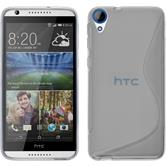 Silicone Case for HTC Desire 820 S-Style transparent