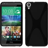 Silicone Case for HTC Desire 820 X-Style black