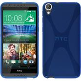 Silicone Case for HTC Desire 820 X-Style blue