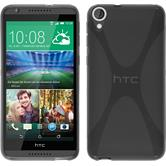 Silicone Case for HTC Desire 820 X-Style gray