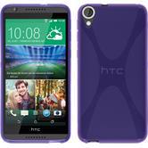 Silicone Case for HTC Desire 820 X-Style purple