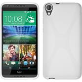 Silicone Case for HTC Desire 820 X-Style white