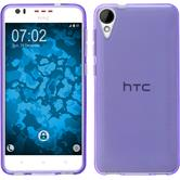 Silicone Case for HTC Desire 825 crystal-case purple