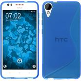 Silicone Case for HTC Desire 825 S-Style blue