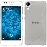 Silicone Case for HTC Desire 825 S-Style transparent