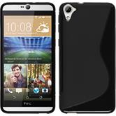 Silicone Case for HTC Desire 826 S-Style black