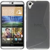 Silicone Case for HTC Desire 826 S-Style gray