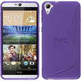 Silicone Case for HTC Desire 826 S-Style purple