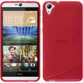 Silicone Case for HTC Desire 826 S-Style red
