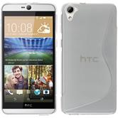 Silicone Case for HTC Desire 826 S-Style transparent