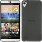 Silicone Case for HTC Desire 826 Slimcase gray