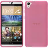 Silicone Case for HTC Desire 826 transparent pink